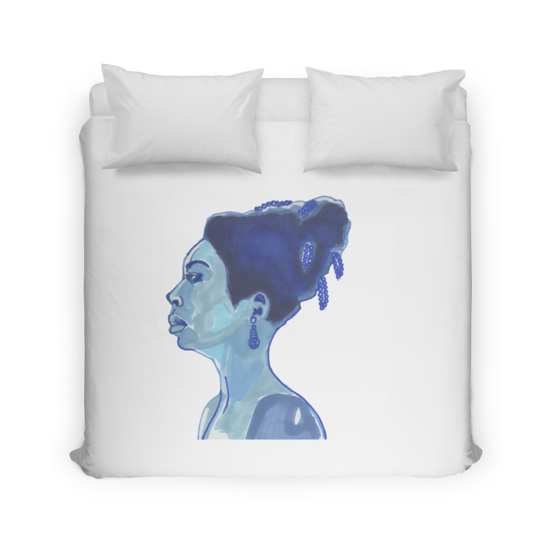 NINA Home Duvet by birdboogie's Artist Shop
