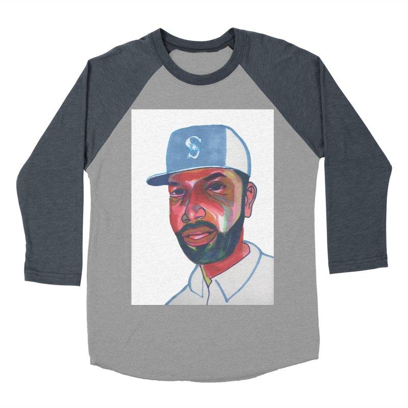 Jabo Women's Baseball Triblend Longsleeve T-Shirt by birdboogie's Artist Shop