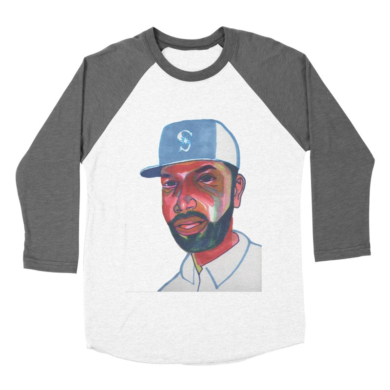 Jabo Men's Baseball Triblend Longsleeve T-Shirt by birdboogie's Artist Shop