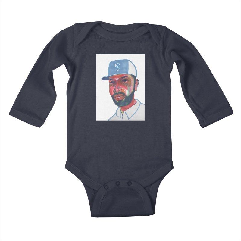 Jabo Kids Baby Longsleeve Bodysuit by birdboogie's Artist Shop
