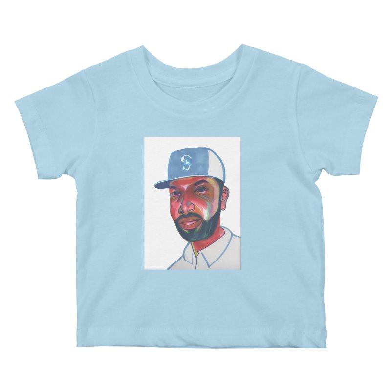 Jabo Kids Baby T-Shirt by birdboogie's Artist Shop
