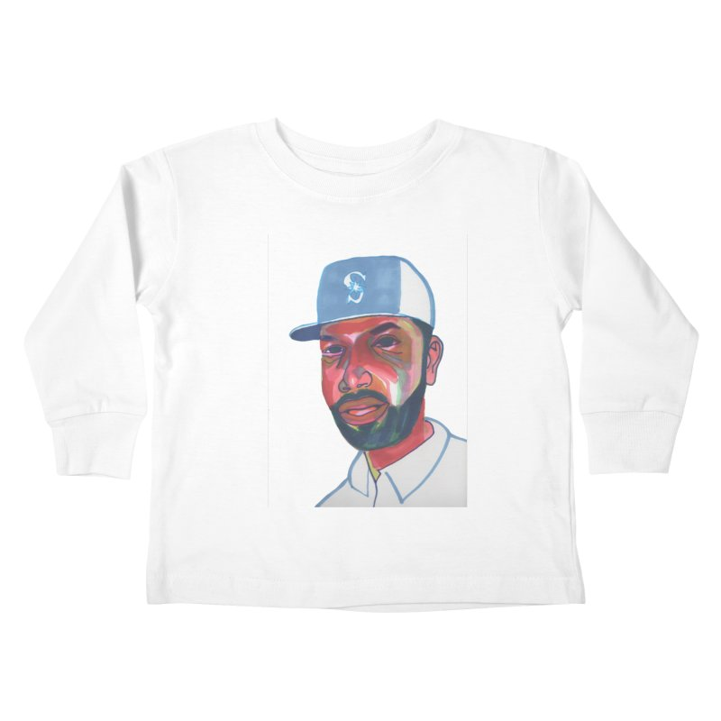 Jabo Kids Toddler Longsleeve T-Shirt by birdboogie's Artist Shop
