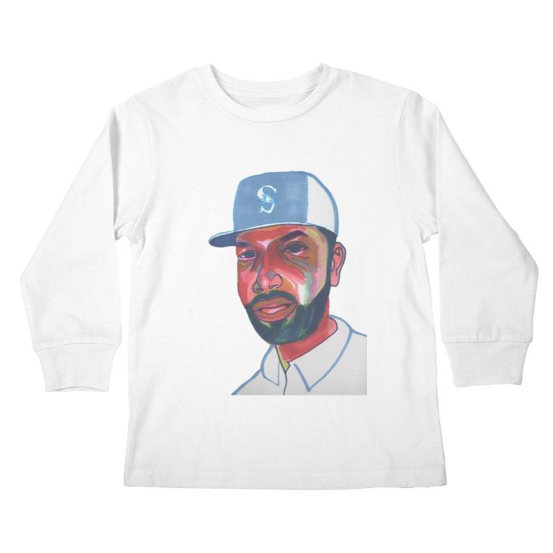 Jabo Kids Longsleeve T-Shirt by birdboogie's Artist Shop