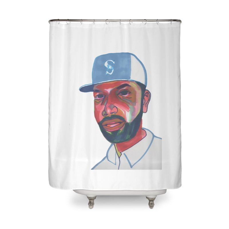 Jabo Home Shower Curtain by birdboogie's Artist Shop