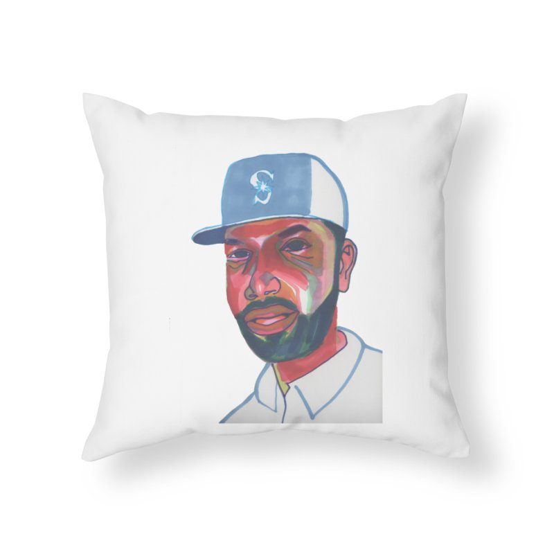 Jabo Home Throw Pillow by birdboogie's Artist Shop