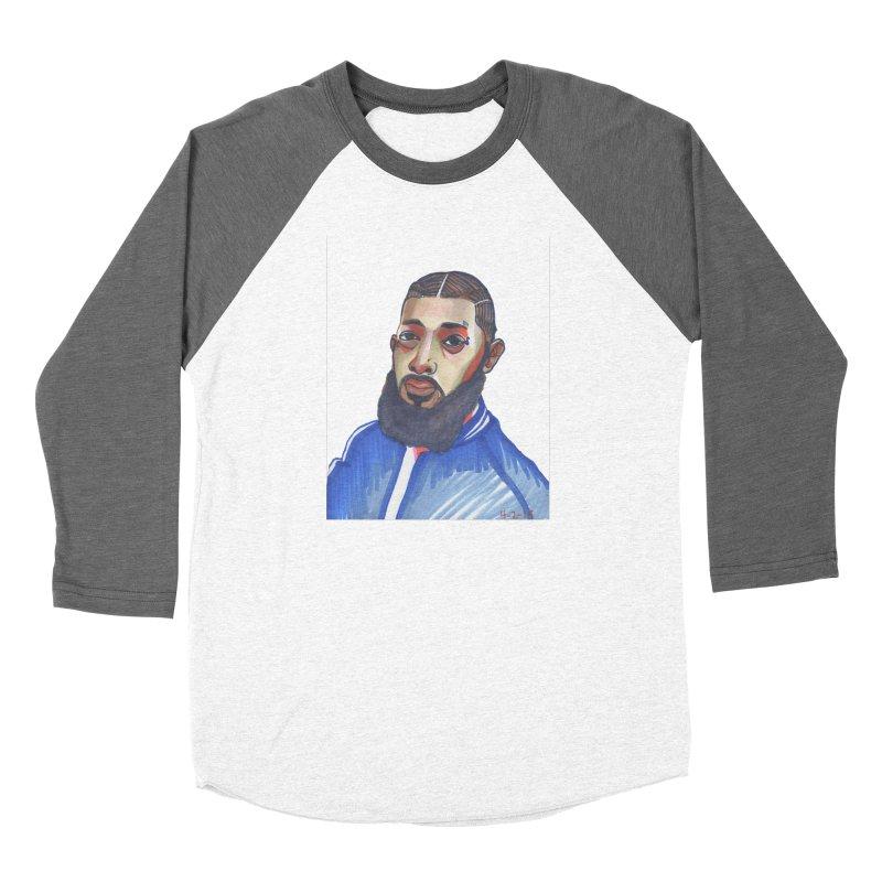 NIPSEY HUSSLE Women's Longsleeve T-Shirt by birdboogie's Artist Shop