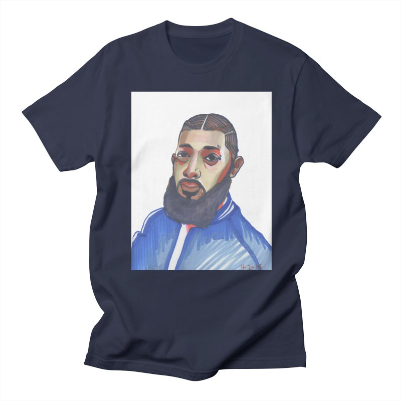 NIPSEY HUSSLE Women's Regular Unisex T-Shirt by birdboogie's Artist Shop
