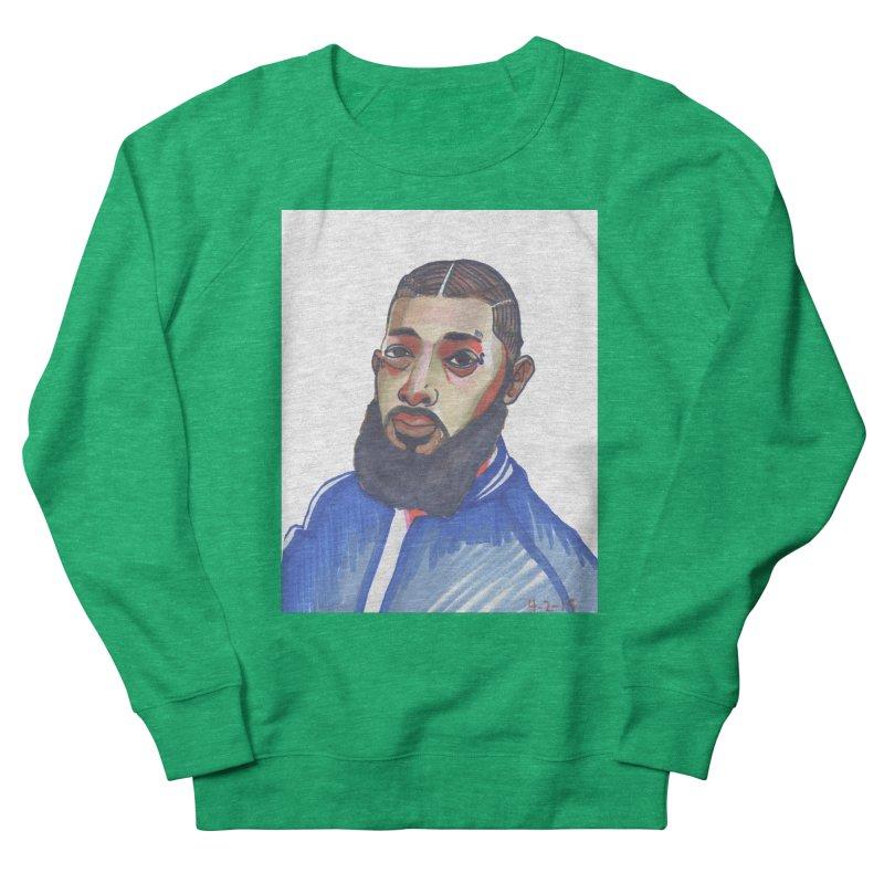 NIPSEY HUSSLE Women's Sweatshirt by birdboogie's Artist Shop