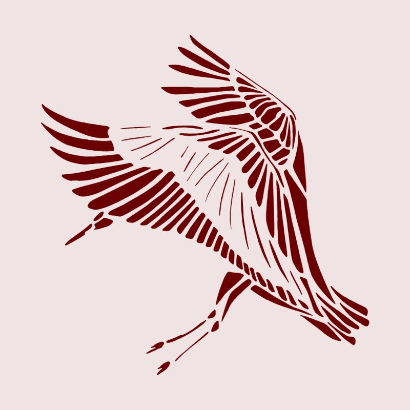 Great Red Heron by Birdoptera on Threadless