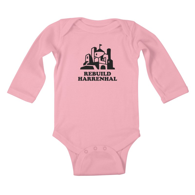 Rebuild Harrenhal Kids Baby Longsleeve Bodysuit by bishopia's Shop