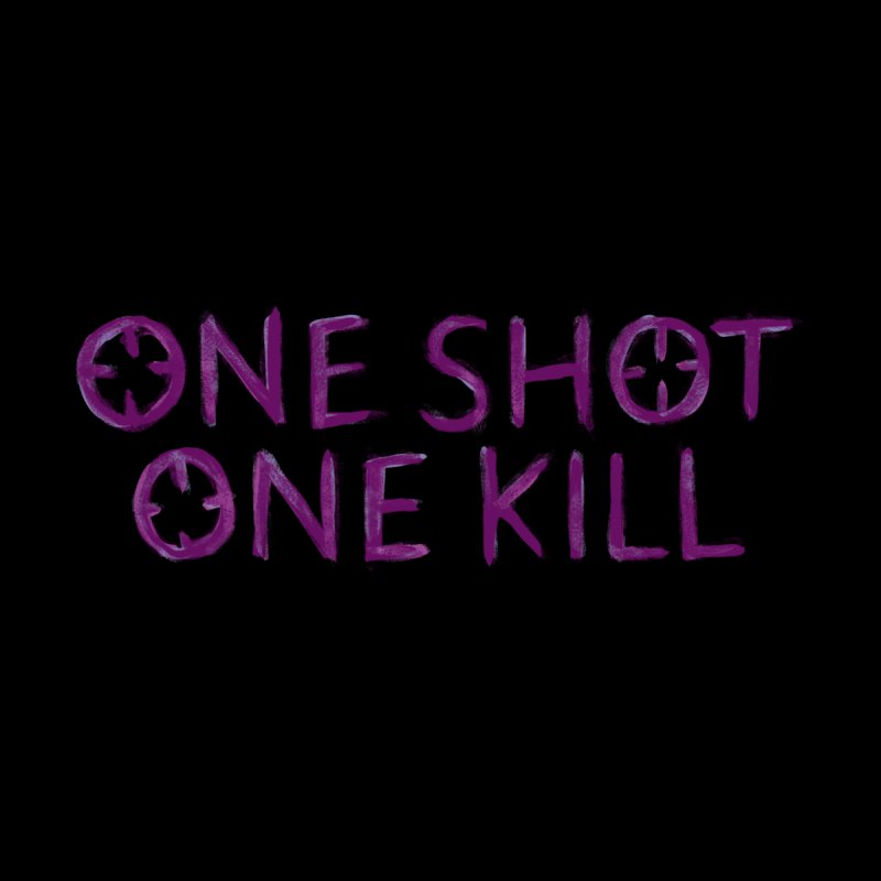 One Shot One Kill Men's T-shirt by bitemefox's Artist Shop