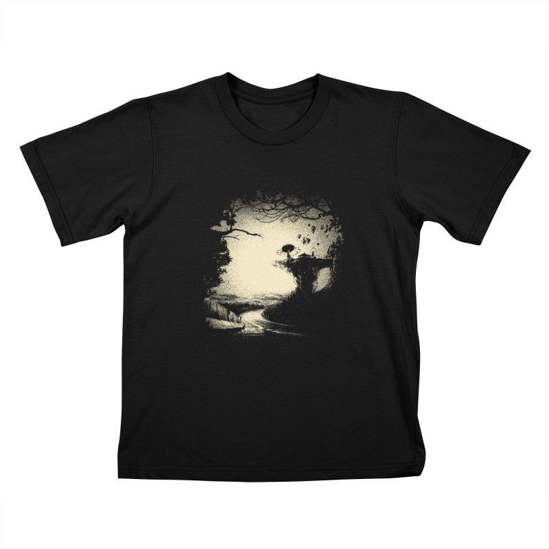 The Lost Neverland Kids T-Shirt by bitgie's Artist Shop