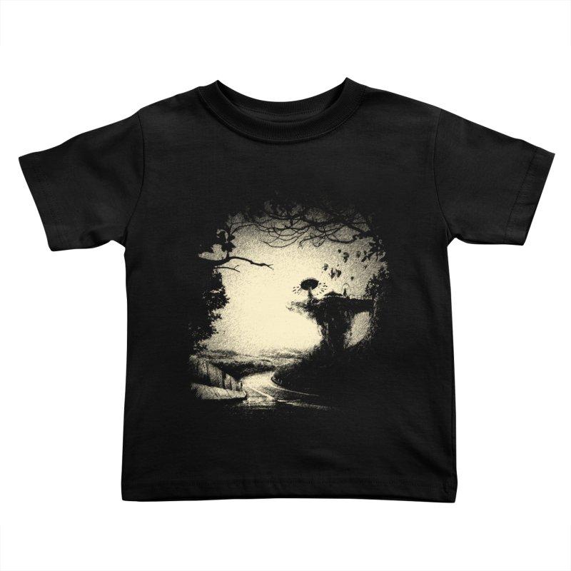 The Lost Neverland Kids Toddler T-Shirt by bitgie's Artist Shop