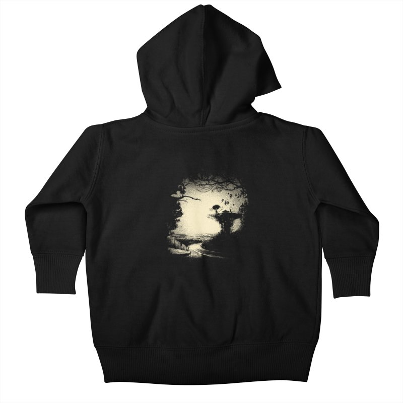The Lost Neverland Kids Baby Zip-Up Hoody by bitgie's Artist Shop