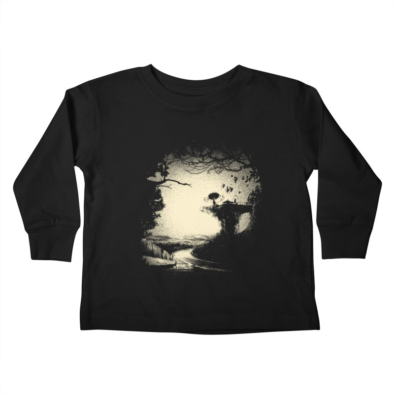 The Lost Neverland Kids Toddler Longsleeve T-Shirt by bitgie's Artist Shop