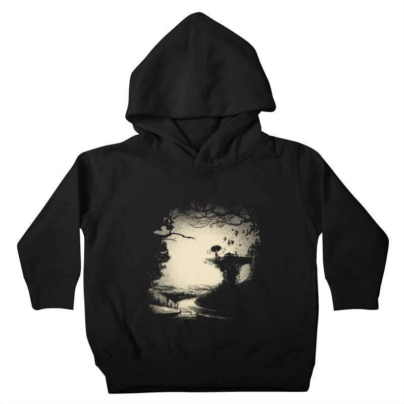 The Lost Neverland Kids Toddler Pullover Hoody by bitgie's Artist Shop