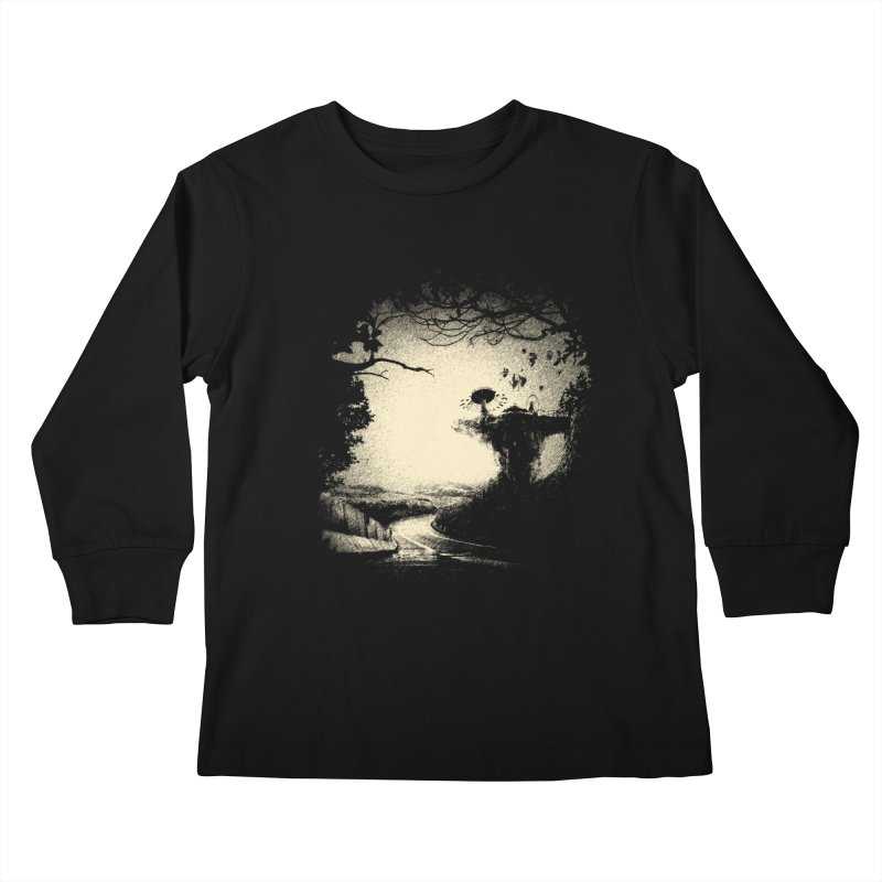 The Lost Neverland Kids Longsleeve T-Shirt by bitgie's Artist Shop