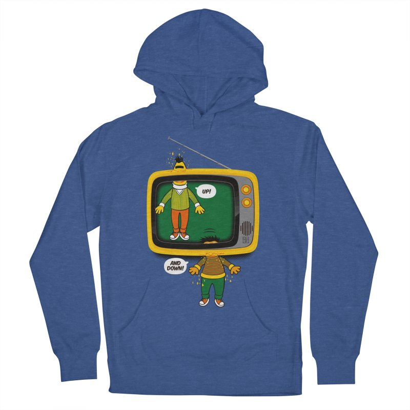 Up and down Men's Pullover Hoody by biticol's Artist Shop