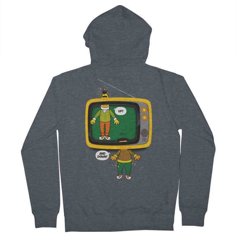 Up and down Women's Zip-Up Hoody by biticol's Artist Shop
