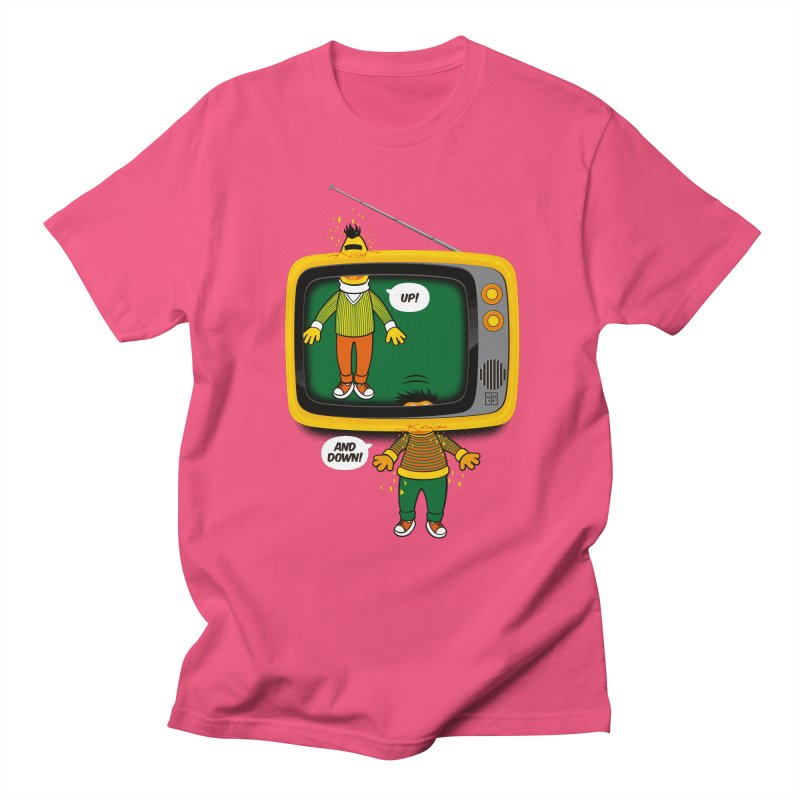 Up and down Men's T-shirt by biticol's Artist Shop
