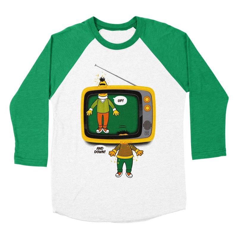 Up and down Women's Baseball Triblend T-Shirt by biticol's Artist Shop