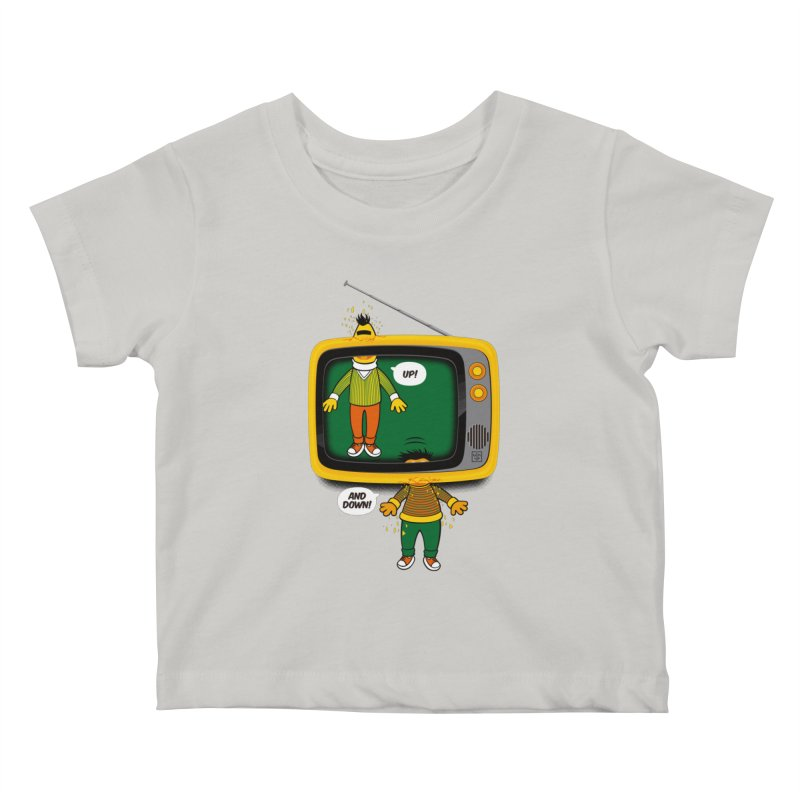 Up and down Kids Baby T-Shirt by biticol's Artist Shop