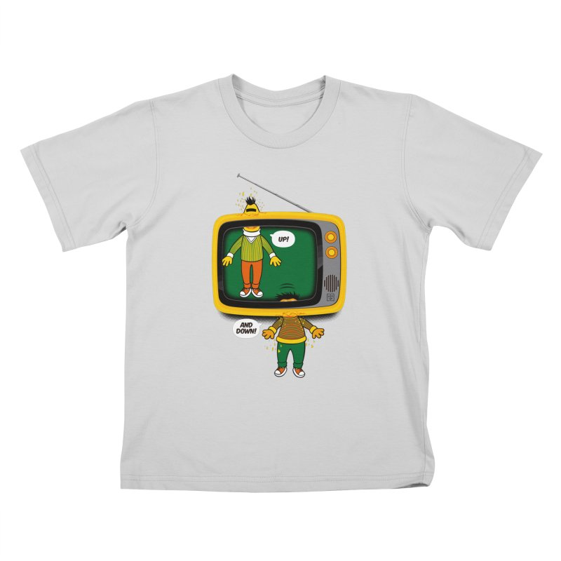 Up and down Kids T-Shirt by biticol's Artist Shop