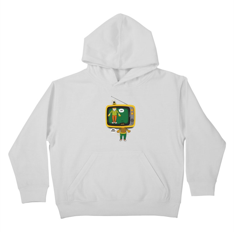 Up and down Kids Pullover Hoody by biticol's Artist Shop