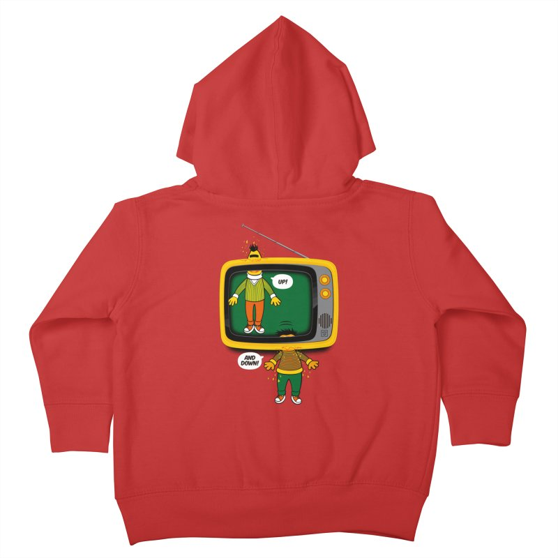 Up and down Kids Toddler Zip-Up Hoody by biticol's Artist Shop