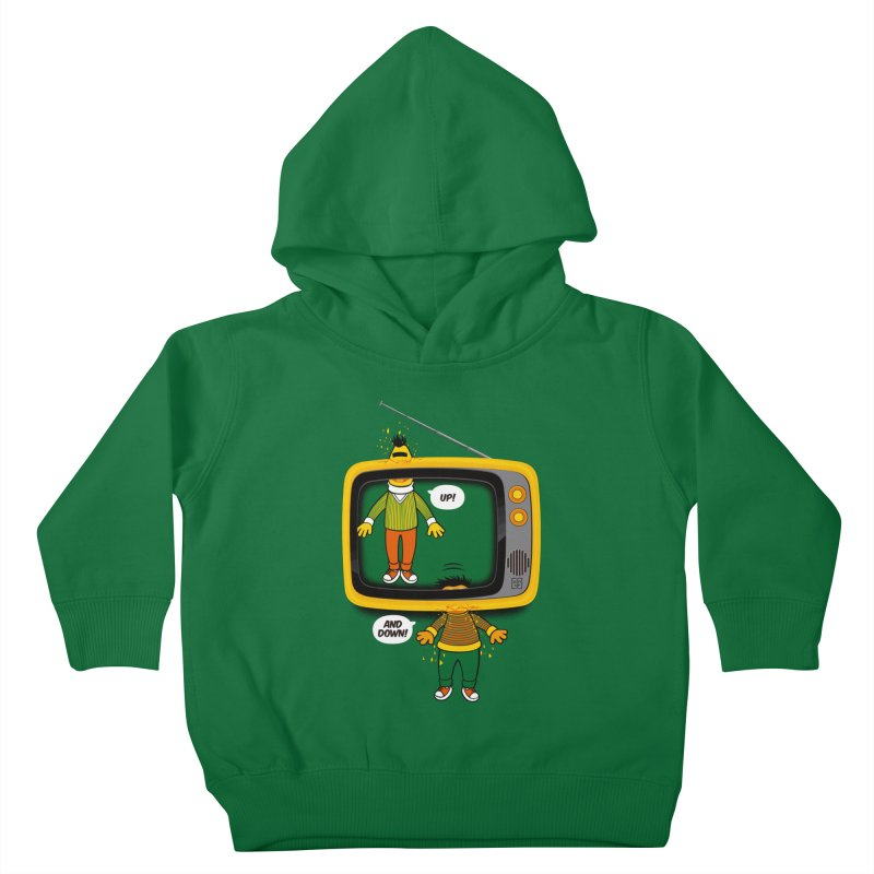 Up and down Kids Toddler Pullover Hoody by biticol's Artist Shop