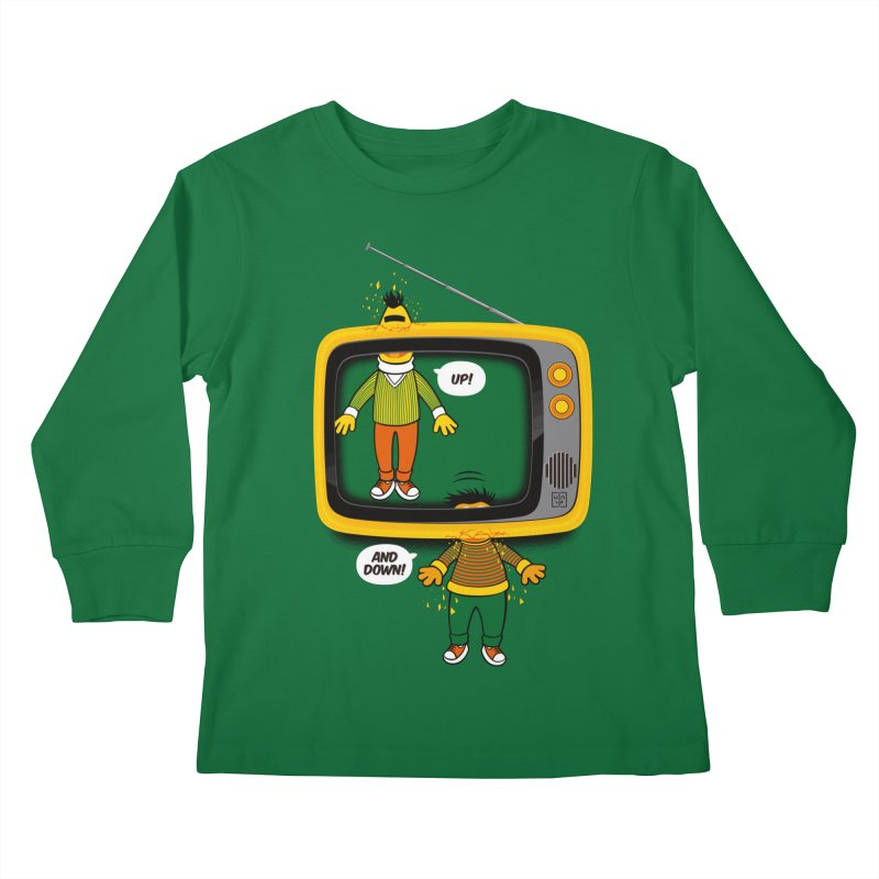 Up and down Kids Longsleeve T-Shirt by biticol's Artist Shop