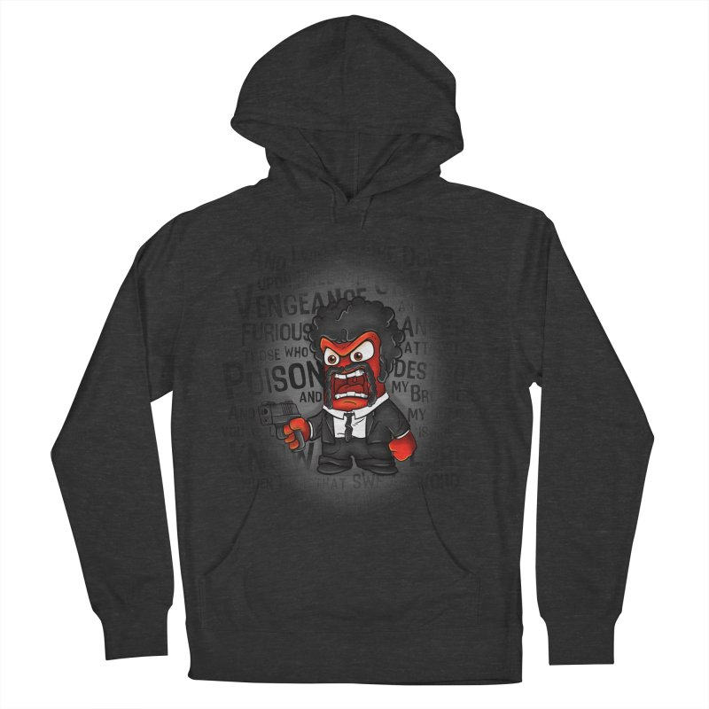 Furious anger Men's Pullover Hoody by biticol's Artist Shop