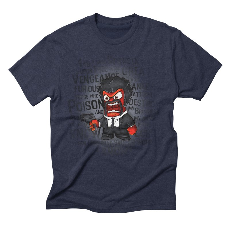 Furious anger Men's Triblend T-Shirt by biticol's Artist Shop