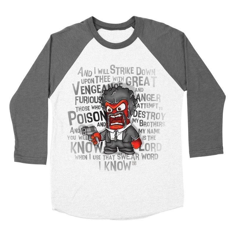 Furious anger Women's Baseball Triblend T-Shirt by biticol's Artist Shop