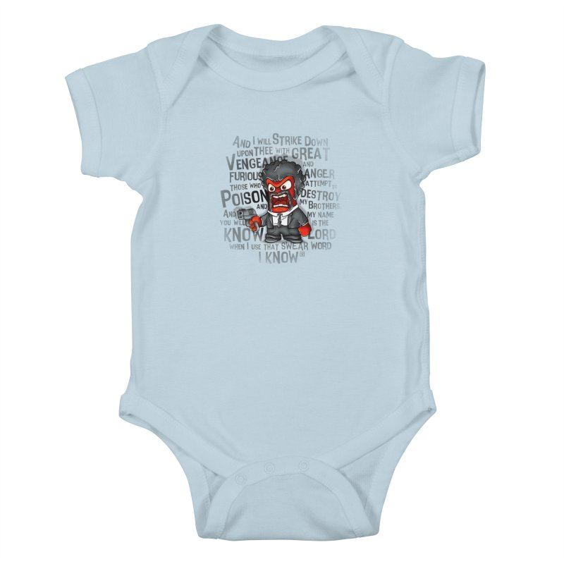Furious anger Kids Baby Bodysuit by biticol's Artist Shop