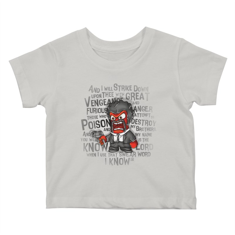 Furious anger Kids Baby T-Shirt by biticol's Artist Shop