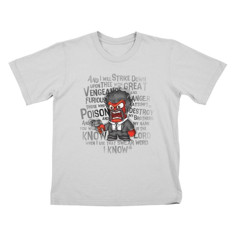 Furious anger Kids T-Shirt by biticol's Artist Shop