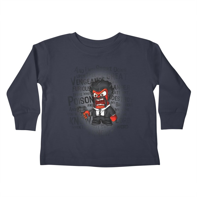 Furious anger Kids Toddler Longsleeve T-Shirt by biticol's Artist Shop