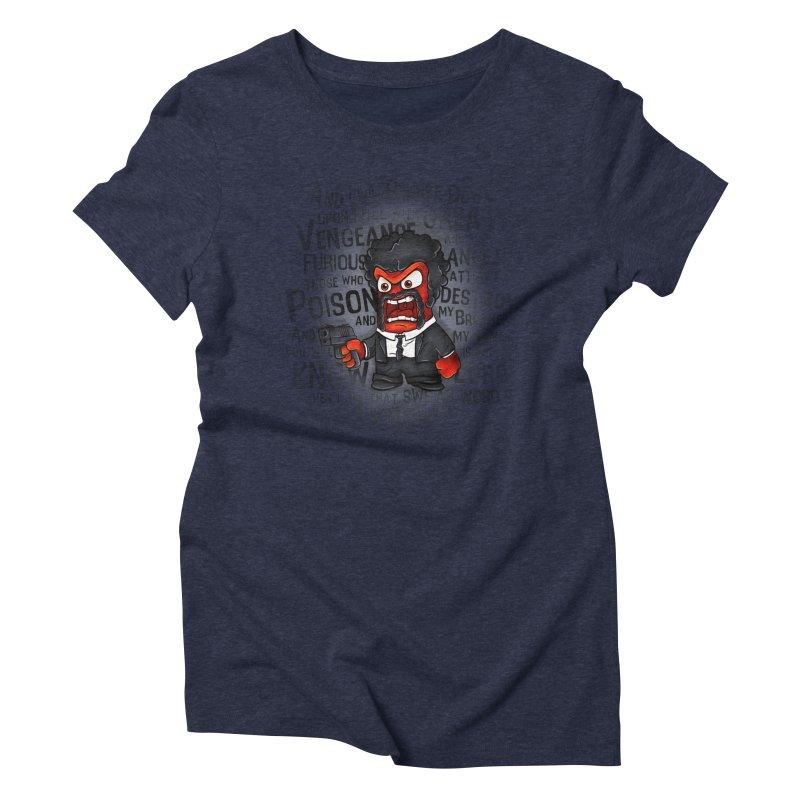 Furious anger Women's Triblend T-Shirt by biticol's Artist Shop