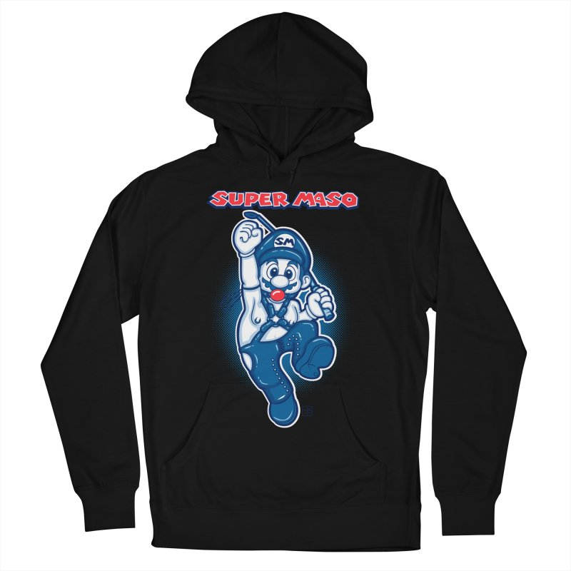 Super maso Men's Pullover Hoody by biticol's Artist Shop
