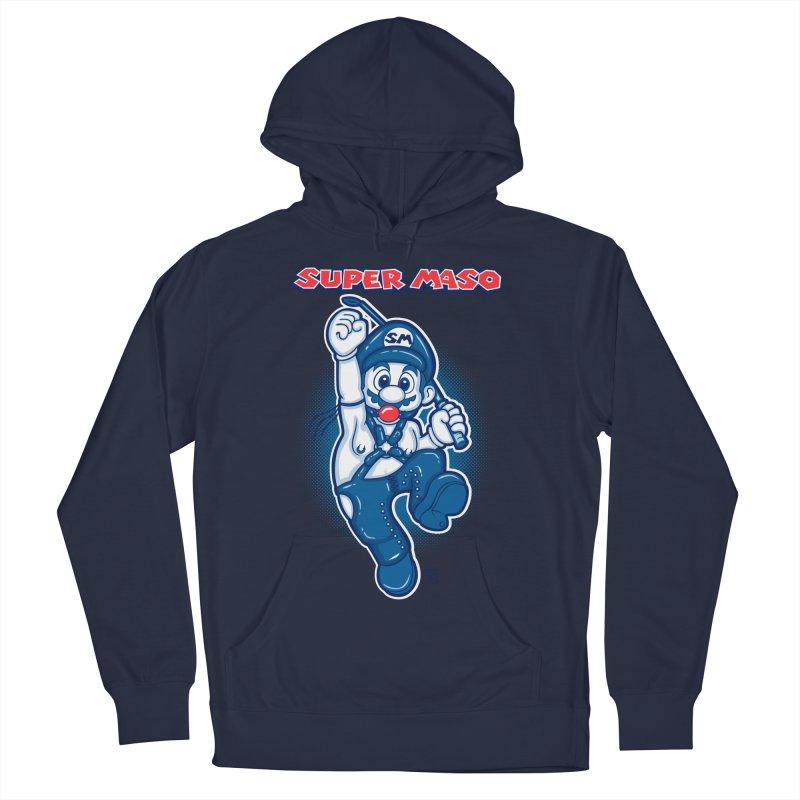 Super maso Men's Pullover Hoody by biticol's Artist Shop