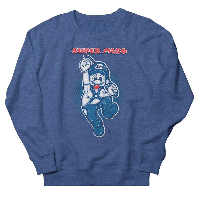Super maso Women's French Terry Sweatshirt by biticol's Artist Shop