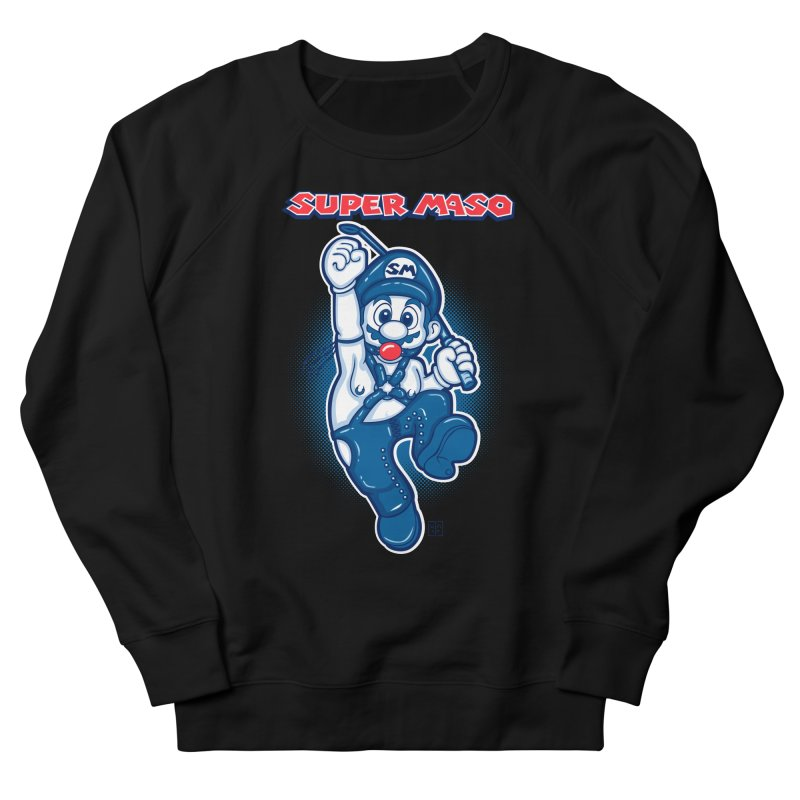 Super maso Women's Sweatshirt by biticol's Artist Shop