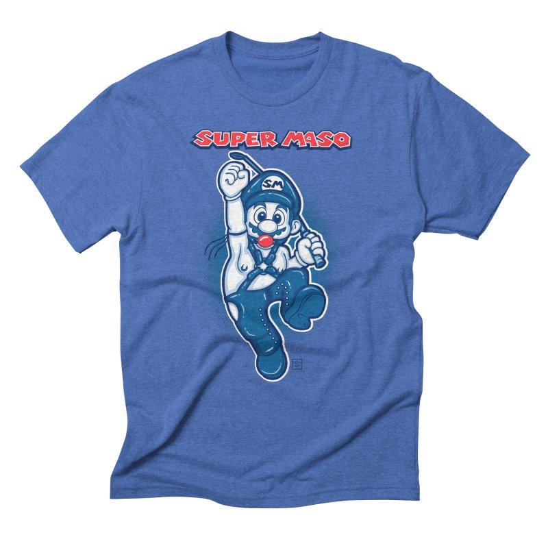 Super maso Men's Triblend T-Shirt by biticol's Artist Shop