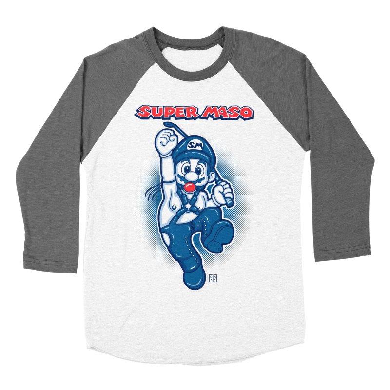 Super maso Women's Baseball Triblend T-Shirt by biticol's Artist Shop