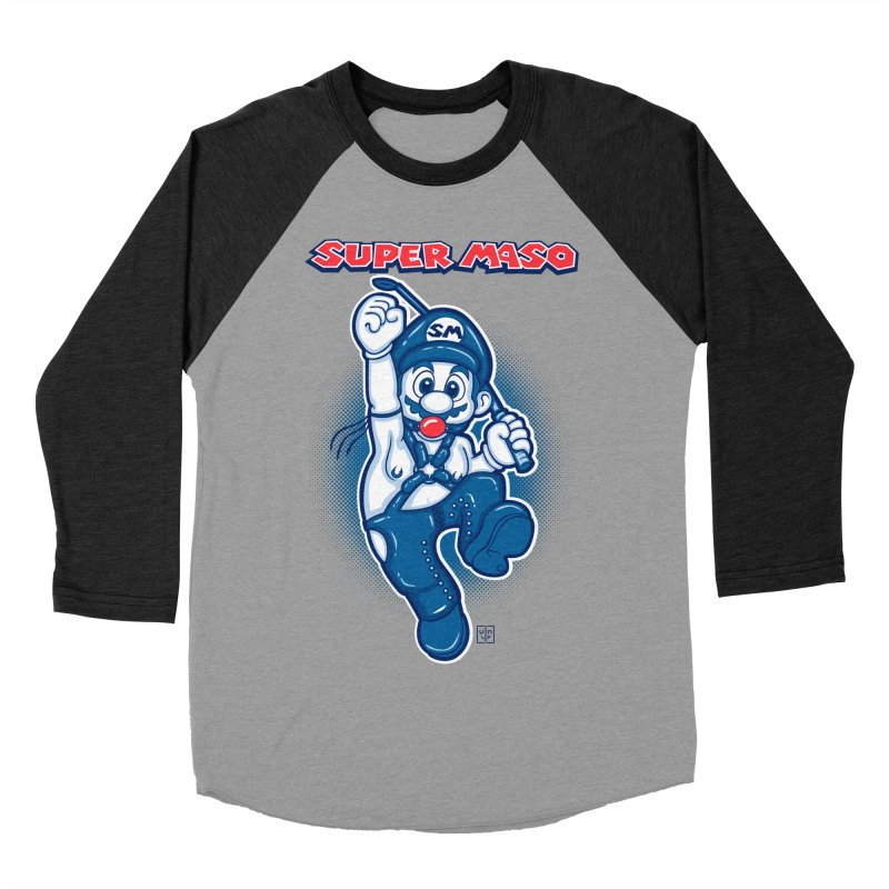 Super maso Men's Baseball Triblend T-Shirt by biticol's Artist Shop
