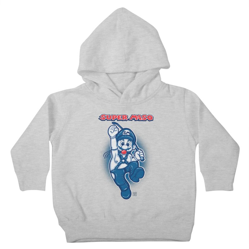 Super maso Kids Toddler Pullover Hoody by biticol's Artist Shop