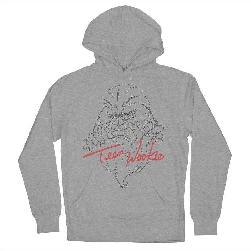 Teen wookie Women's Pullover Hoody by biticol's Artist Shop