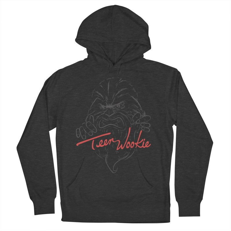 Teen wookie Men's French Terry Pullover Hoody by biticol's Artist Shop