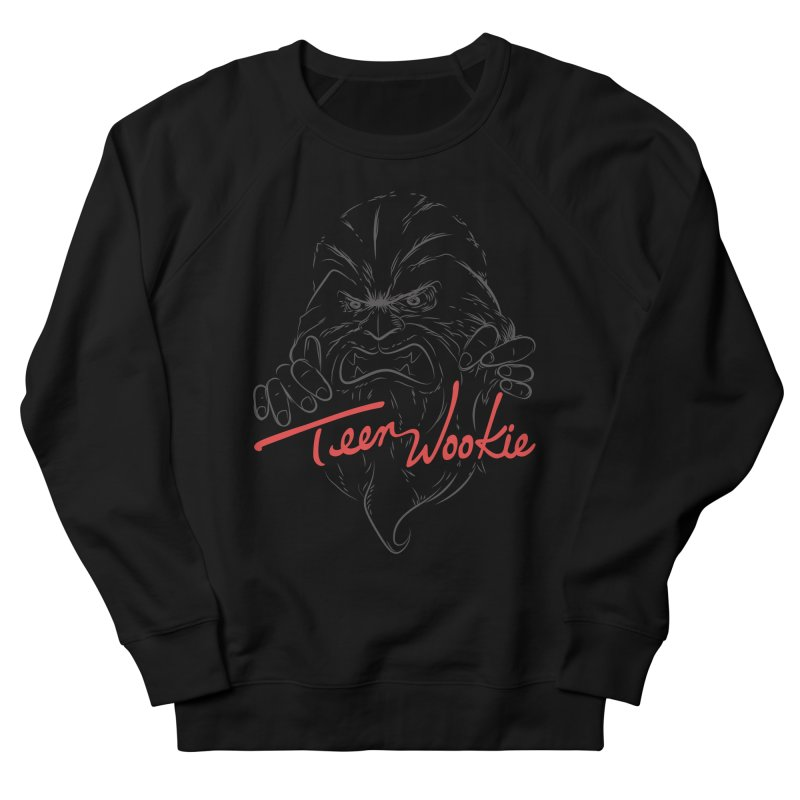Teen wookie Women's French Terry Sweatshirt by biticol's Artist Shop